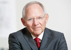 Dr. Wolfgang Schäuble © Laurence Chaperon